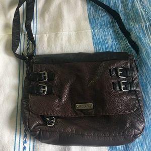 Roxy Brown and Black Crossbody bag